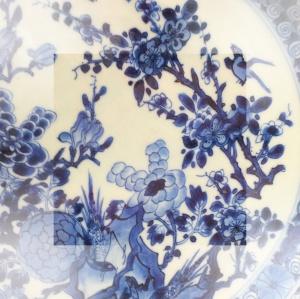 chinoiserie blau